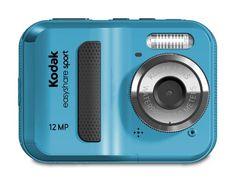 Kodak EasyShare Sport C123 12 MP Waterproof Digital Camera (Blue)  for more details visit :http://photocamera.megaluxmart.com/