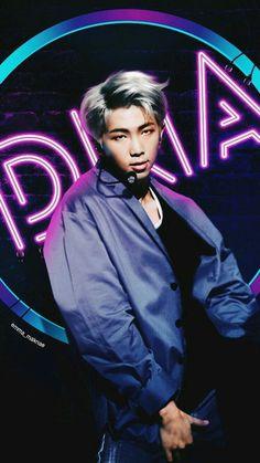 RM BTS DNA wallpaper