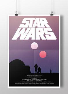 Star Wars fan poster art by Joe Elam. www.joeelamdesign.com Purchase here! http://www.joeelamdesign.com/shop/