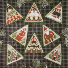 cross stitch pattern : o christmas tree the prairie schooler book 183 12 days of christmas counted cross stitch diy.