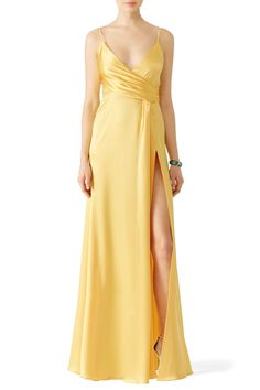 Rent Buttercup Satin Gown by Jill Jill Stuart for $70 only at Rent the Runway.