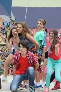 Griffin Jones at a film shoot for Dance Arts United