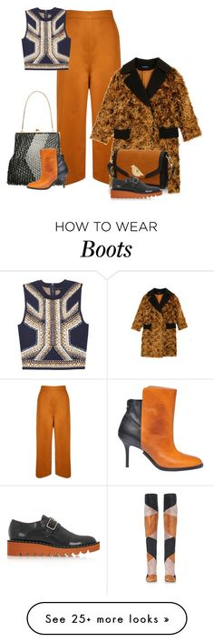 """Untitled #3485"" by lovetodrinktea on Polyvore featuring Gianvito Rossi, Andrea Marques, Vika Gazinskaya, Charlotte Olympia, Maison Margiela and STELLA McCARTNEY"