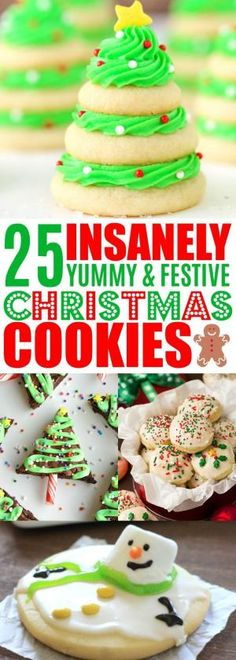 25 Easy Christmas Cookie Recipes To Rock Your Holiday Cookie Exchange Christmas Cookies, Christmas Cookie Recipes, Holiday Cookies, Cookie Exchange Best Holiday Cookies, Easy Christmas Cookie Recipes, Christmas Cookie Exchange, Christmas Snacks, Xmas Cookies, Christmas Cooking, Holiday Desserts, Holiday Baking, Holiday Recipes
