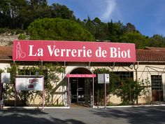 Biot ~ Provence ~ Côte d'Azur ~ France ~ Known for its amazing hand blown glass which is famous for its bubbles.