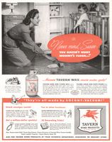 Tavern Floor Wax 1944 Ad Picture