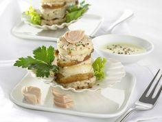 Jakobsmuscheln mit Thunfischcreme aus Pfefferschaum ist ein Rezept mit frischen Zutaten aus der Kategorie Muscheln. Probieren Sie dieses und weitere Rezepte von EAT SMARTER!