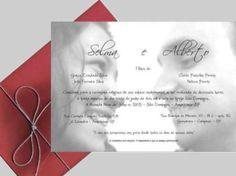 modelos de convites para casamento simples
