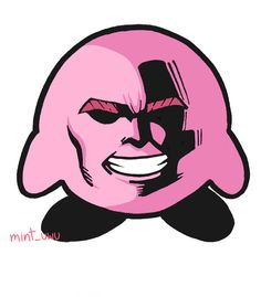 "Kirby:""Poyo (Eat this)"". All Anime, Manga Anime, Anime Art, My Hero Academia Memes, Buko No Hero Academia, Anime Meme, Skullgirls, Chibi, Doja Cat"