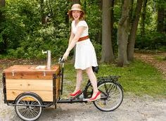 Image result for antique baking carts on wheels street vendors
