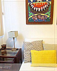 LINDO! ⭐REF. A3C58  #Apartamento #Apartment #Decor #Interiordesign #Home #Casa #Interiores #Design #Pillows #Haus #RiodeJaneiro