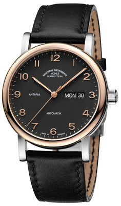 """Mühle-Glashütte Antaria Tag/Datum Watch - by Patrick Kansa - see and read more on aBlogtoWatch.com """"The way I see it, Mühle-Glashütte has been on a bit of a tear as of late. They introduced quite a few new models this year (and even a new lineup), spanning from sportier divers to more classic, dressier pieces. Their latest, the Mühle-Glashütte Antaria Tag/Datum definitely hails from that latter camp..."""""""