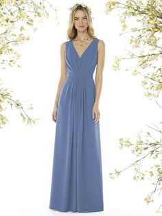 Social Bridesmaids Dress Style 8157 - Larkspur   The Dessy Group