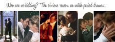 Well, and the story lines & costumes. But the happy, romantic endings are definitely the cherry on top! :)