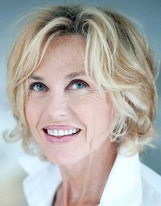 short hairstyles over 50 - short wavy hairstyle for women over 50 Short Wavy Hairstyles For Women, Short Hair Cuts For Women, Messy Hairstyles, Short Haircuts, Hairstyle Ideas, Hairstyle Short, Hairstyles 2018, Wave Hairstyles, Beehive Hairstyle