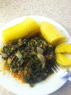Plantain and Vegetables