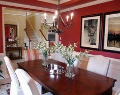 Transitional Dining Room Design in Dallas