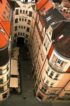 Brno looking down by ozchris2, via Flickr