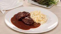 Receta de Carrilleras de cerdo con chucrut #receta #carrilleras #chucrut