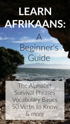 Learn Afrikaans for Beginners. Begin Afrikaans leer. Teaching Safety, Africa Quotes, Afrikaans Language, South African Flag, South Afrika, Reading Help, Africa Travel, Learning Spanish, Vocabulary