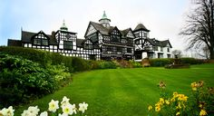 A grand Tudor-style country house hotel close to Chester Zoo and Beeston Castle welcomes guests for a stay in a standard double or twin room Chester Cathedral, City Zoo, Chester Zoo, Townhouse Designs, The Cheshire, Country House Hotels, Uk Deals, Best Shopping Sites, Wild Boar