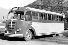 Busses, Alfa Romeo, Transportation, Tourism, Public, Train, Cars, Vehicles, Vintage