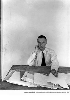Oppenheimer, by Arnold Newman