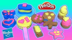 Create all the pretend sweet treats you can imagine with the Candy Jar Set! With the tools in this set and the 4 colors of Play-Doh modeling compound, you ca. Cookie Desserts, Dessert Recipes, Rainbow Toys, Play Doh Fun, Play Sets, My Minion, Play Food, Candy Jars, Treat Yourself