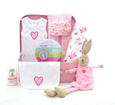 Becca the Bunny also available in tho oh so cute hamper...