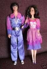 She's a little bit country.....he's a little bit rock-n-roll. I loved my dolls!