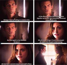 The originals 1x07 - Hayley & Elijah