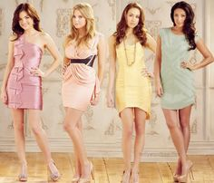 Pretty Little Liars... I guess that title was appropriate. - buy this #dress with http://dressapp.tv
