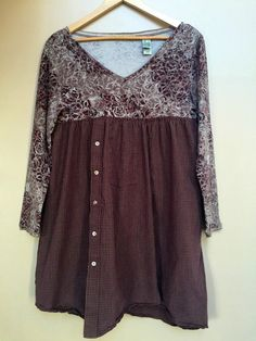 Large / Romantic Upcycled Dress / Upcycled by SimplyCathrineAnn