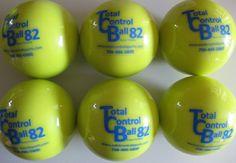 TOTAL+CONTROL+BALL+TCB+82+Softball+Weighted+Training+Hitting+Batting+Aid+~+6+BALL+Pack