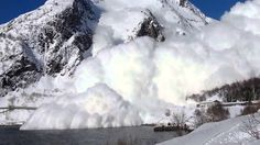 This is what I call an avalanche! Stjernøy Norway Controlled Avalanche at Stjernøy April 2014 Safety first! Avalanche at Stjernøy, Norway April 2014 Billboard Music Awards, Educational Videos, Norway, United Kingdom, England, Angel, Instagram, Nature, Photography