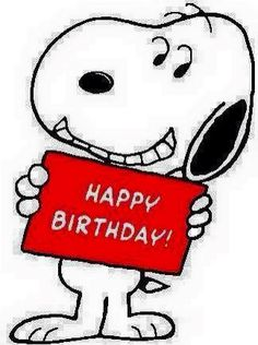 Happy Birthday Snoopy Images Charlie Brown Wishes