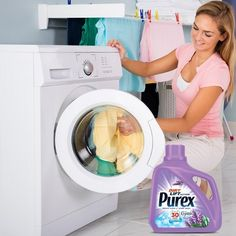 Purex with Crystals Fragrance Lavender Blossom Liquid Laundry Detergent 100 loads Dingy Whites, Clean Washing Machine, Washing Machines, Washer Machine, Liquid Laundry Detergent, Hygiene, Whitening, Cleaning, Blog