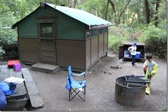 Tent Cabins At Big Basin