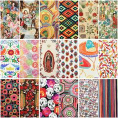 I just came across this Alexander Henry Folklorico Collection over at FabricWorm . I'm especially fond of the Cinco de Mayo Sugar Skull...