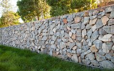 Gabion Wall Ideas - hundreds of professional gabion wall project photos to give you inspiration