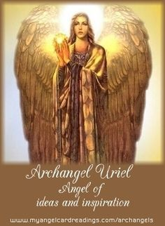 The Angelic Realm: Archangel Uriel ('The Light of God').