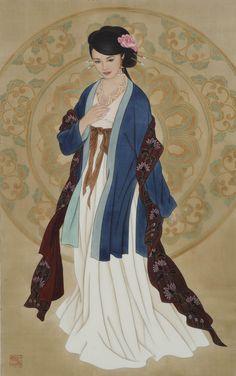 Ancient China, Ancient Art, Japanese Prints, Japanese Art, Tattoo Aquarelle, Chinese Artwork, Art Asiatique, China Painting, Taipei