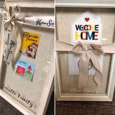 Name Gifts, Shadow Box, House Warming, My Love, Tableware, Cards, Dinnerware, Tablewares, Map
