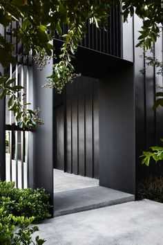 New exterior entrance decor architecture Ideas Design Entrée, Tor Design, Gate Design, House Design, Design Ideas, Entrance Design, Entrance Gates, House Entrance, Contemporary Houses