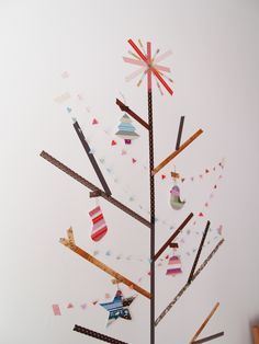 TR Dec 2011 Advent Calendar with masking tapes (Japanese paper tapes) - 3