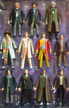 Doctor who action figures.