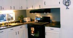 sola amplia remodelación de la cocina