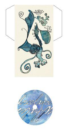 Freelance Whales CD Art by Daniela Arguedas, via Behance