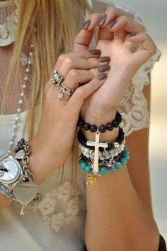 cross bracelet - must have