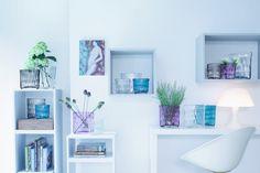 LSA's pastel glassware can create a beautiful setting || Image courtesy of LSA International